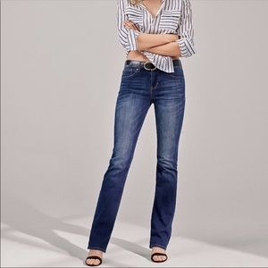 Express Jeans - Express Barely Boot Cut Jeans, Mid Rise, sz 4R